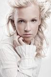 Beautiful blond woman Royalty Free Stock Photos