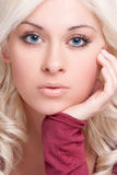 Beautiful Blond Woman Stock Image
