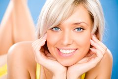 Beautiful blond woman Royalty Free Stock Images