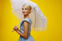 Beautiful blond woman Royalty Free Stock Photo