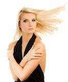 Beautiful blond woman Stock Photos