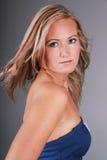 Beautiful blond woman. Royalty Free Stock Photos