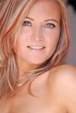 Beautiful blond woman. Royalty Free Stock Photo