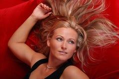 beautiful blond woman Στοκ εικόνες με δικαίωμα ελεύθερης χρήσης