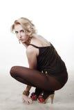 Beautiful blond woman Royalty Free Stock Photos