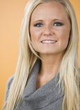 beautiful blond woman Στοκ Φωτογραφία