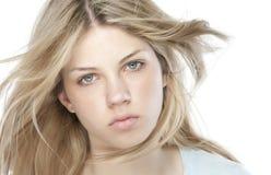 beautiful blond woman Στοκ Εικόνα
