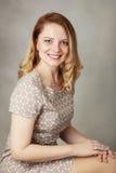 Beautiful blond woman Stock Image