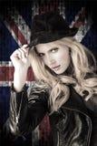 Beautiful blond woman. Stock Photography