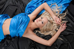 Beautiful blond woman. Royalty Free Stock Images