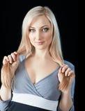 beautiful blond woman young Στοκ φωτογραφίες με δικαίωμα ελεύθερης χρήσης