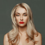beautiful blond woman young Στοκ εικόνες με δικαίωμα ελεύθερης χρήσης