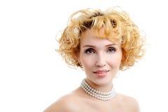 beautiful blond woman young Στοκ φωτογραφία με δικαίωμα ελεύθερης χρήσης