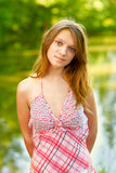 Beautiful blond young woman Royalty Free Stock Photography