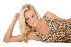 Beautiful blonde Stock Image
