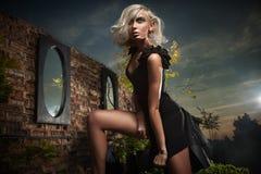 Beautiful blonde Royalty Free Stock Photo