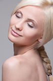 Beautiful blonde Royalty Free Stock Photo