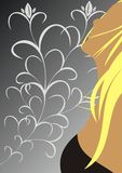 The beautiful blonde Stock Photos