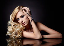 Beautiful blonde Royalty Free Stock Images