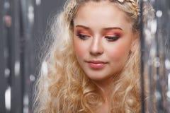 Beautiful blonde Royalty Free Stock Photography