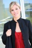 Beautiful Blonde Business Woman Royalty Free Stock Photo