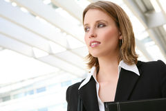 Beautiful Blonde Business Woman Stock Image