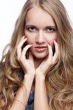 Beautiful blonde european girl Royalty Free Stock Photography