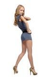 Beautiful blonde european girl Stock Images