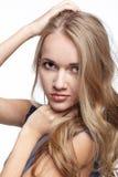 Beautiful blonde european girl Stock Photo