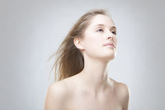 Beautiful blonde girl Royalty Free Stock Image