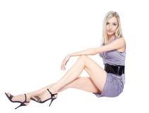 Beautiful blonde girl Royalty Free Stock Photos