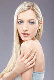 Beautiful blonde girl Royalty Free Stock Images
