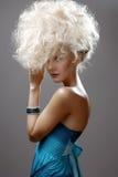 Beautiful Blonde Girl. Stock Image