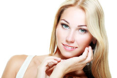 Beautiful Blonde Girl Stock Image