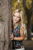 Beautiful blonde girl Royalty Free Stock Image