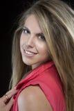 Beautiful blonde girl Stock Photography