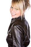 beautiful blonde girl smiling Στοκ εικόνα με δικαίωμα ελεύθερης χρήσης