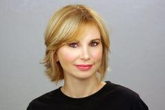 Beautiful Blonde Headshot (1) Stock Photography