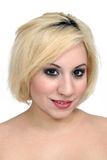 Beautiful Blonde Headshot (1) Royalty Free Stock Image