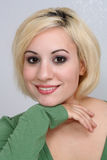Beautiful Blonde Headshot (7) Royalty Free Stock Photography