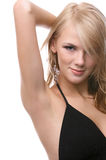 Beautiful blonde model Royalty Free Stock Photos