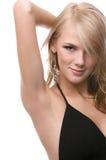 Beautiful blonde model Royalty Free Stock Photos