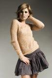 Beautiful blonde model Royalty Free Stock Image