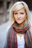 Beautiful blonde portrait Royalty Free Stock Photo