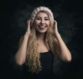 beautiful blonde portrait woman Στοκ φωτογραφία με δικαίωμα ελεύθερης χρήσης