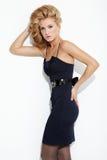 Beautiful blonde posing Royalty Free Stock Photos