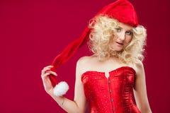 Beautiful blonde girl Stock Images
