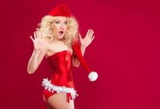 Beautiful blonde girl Royalty Free Stock Photography