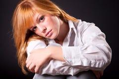 Beautiful blonde teen girl Royalty Free Stock Photos