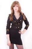 Beautiful blonde teenager girl Royalty Free Stock Images